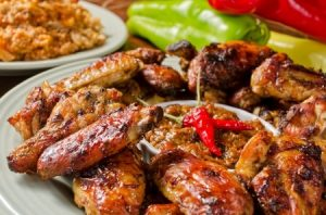 sweet spicy chicken wings