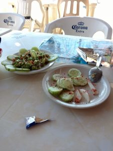 Eating Fish In Mexico