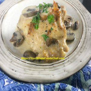 Keto Chicken Thighs With Portobello Mushroom Sauce Our Retirement Life In Mexicoour Retirement Life In Mexico